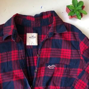 classic hollister flannel ❤️